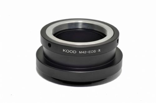 M42 lens to Canon EOSR Adapter